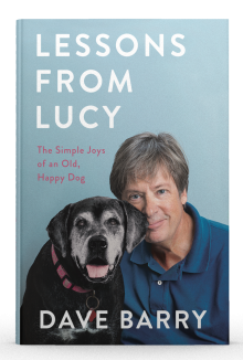 Front cover book shot of Lessons from Lucy by Dave Barry