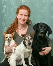 Dr. Cooney and pets